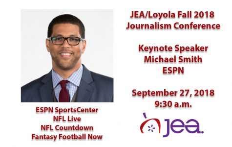 ESPN's Michael Smith JEA/Loyola Keynote Speaker