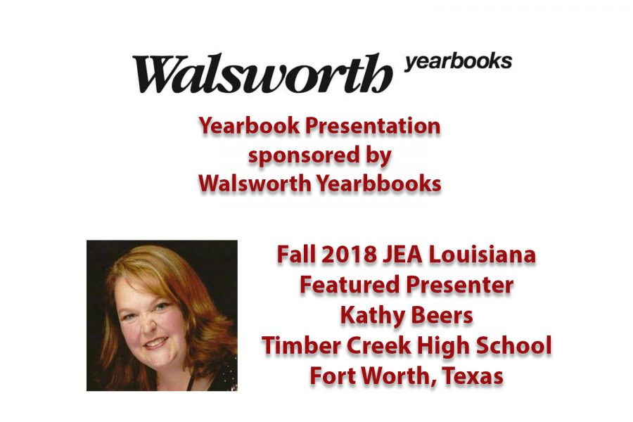 Fall 2018: Featured Yearbook Presenter Kathy Beers