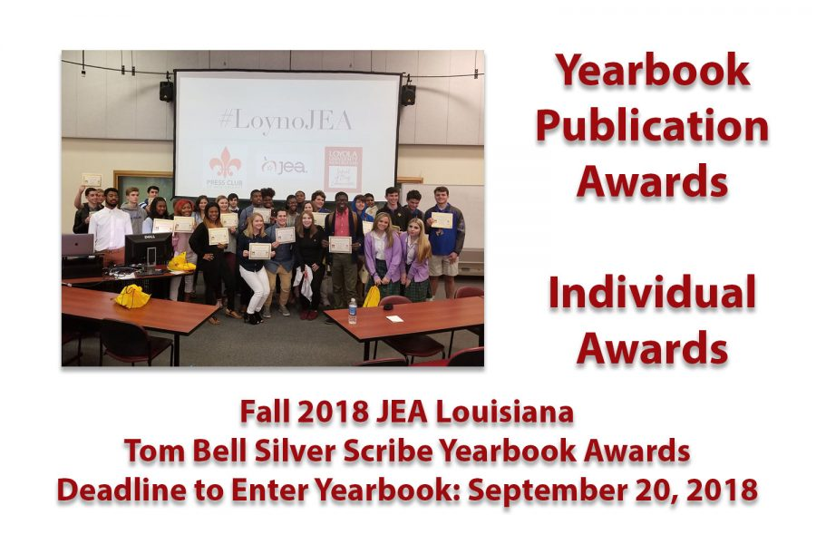 Fall+2018+JEA%2FTom+Bell+Silver+Scribe+Yearbook+Contest