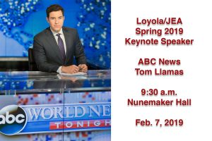 Keynote Speaker: ABC News Anchor Tom Llamas