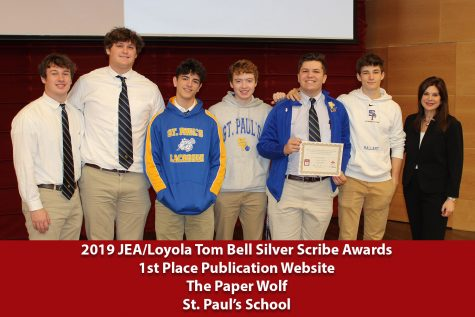 2019 Tom Bell Silver Scribe Award Winners
