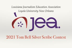 2021 Spring Tom Bell Silver Scribe Yearbook Contest